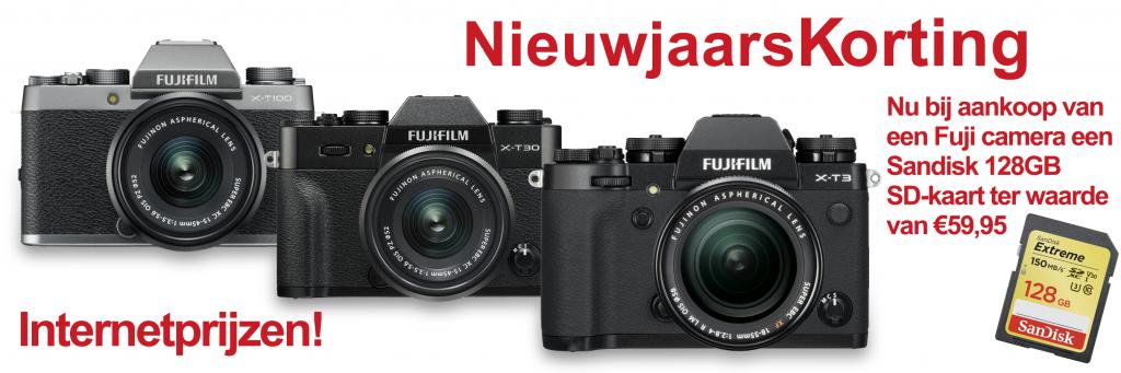 Fujifilm Camera korting Foto Bertelink